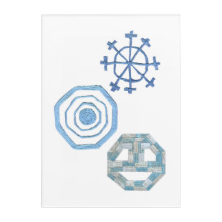 Special Snowflake Acrylic Poster Acrylic Wall Art