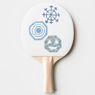 Special Snowflake Ping Pong Bat Ping Pong Paddle