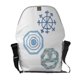 Special Snowflake Rusksack Courier Bag