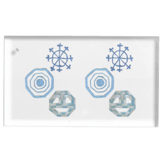 Special Snowflake Table Card Holder