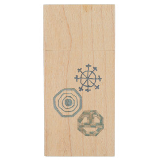 Special Snowflake Wooden Pendrive Wood USB Flash Drive