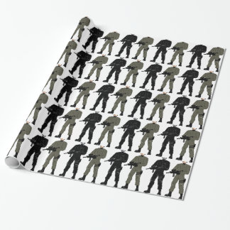 Special Soldier Wrapping Paper