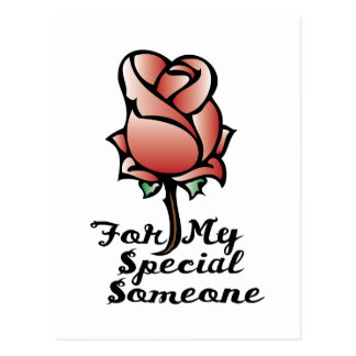 Special Someone Postcard