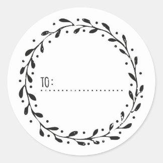 Special someone round sticker