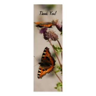Special Thank You Profile Card Business Cards