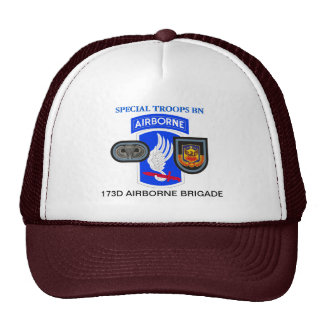 SPECIAL TROOPS BN 173D AIRBORNE HAT