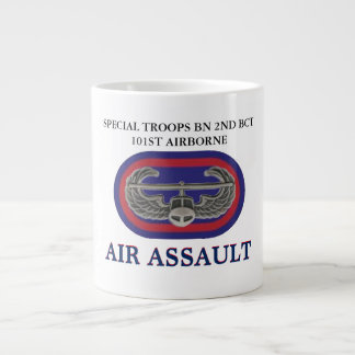 SPECIAL TROOPS BN 2ND BCT 101ST AIRBORNE MUG JUMBO MUG