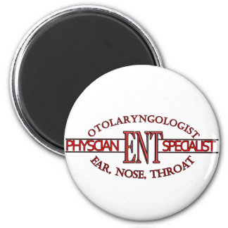 SPECIALIST ENT Otolaryngology Ear Nose Throat LOGO 6 Cm Round Magnet