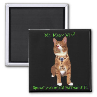Specially-abled Magoo Magnet