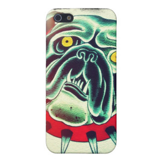 Speck Case Template bulldog Case For iPhone 5/5S