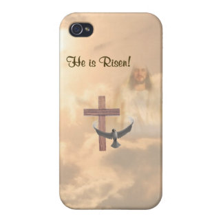 Speck® Fitted™ He Is Risen HardShell iPhone 4 Case