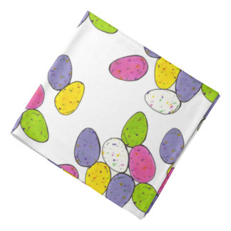 Speckled Easter Egg Eggs Malted Chocolate Candy Bandana