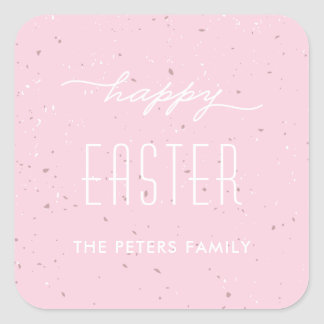 Speckled Egg Easter Sticker - Peony