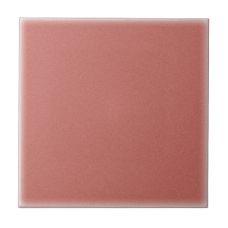 Speckled Gold Dusty Rose (Ceramic Tile) Small Square Tile
