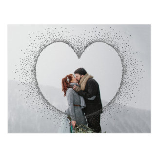 SPECKLED HEART POSTCARD