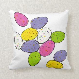 Speckled Malted Easter Candy Egg Eggs Pillow Cushions
