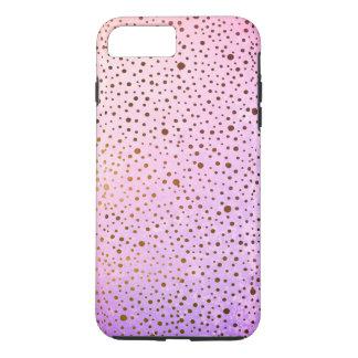 speckled pattern pink gradient iPhone 8 plus/7 plus case