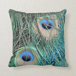 Speckled Peacock Eyes Cushion