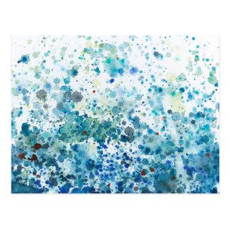 Speckled Sea I Postcard