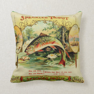 Speckled Trout Cushion