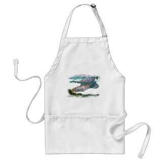 Speckled Trout Feeding Standard Apron