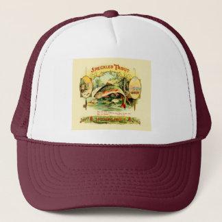 Speckled Trout Vintage Art Trucker Hat