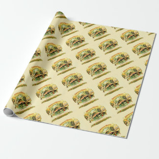 Speckled Trout Vintage Art Wrapping Paper
