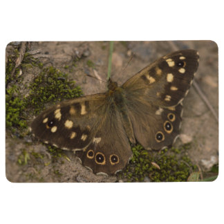 Speckled Wood Butterfly Floor Mat