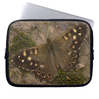 Speckled Wood Butterfly Laptop Sleeve