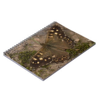 Speckled Wood Butterfly Notebooks