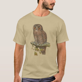 Speckled Wood Owl Tee