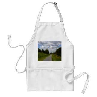 Spectacle Island in Boston Harbor Adult Apron