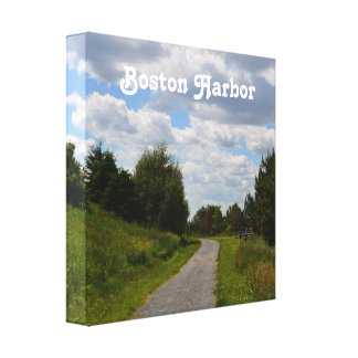 Spectacle Island in Boston Harbor Gallery Wrap Canvas