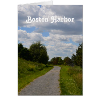 Spectacle Island in Boston Harbor Card