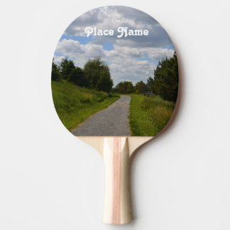 Spectacle Island in Boston Harbor Ping-Pong Paddle