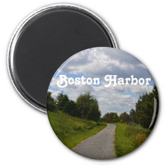 Spectacle Island in Boston Harbor Fridge Magnets
