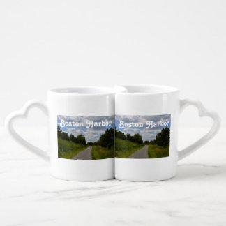 Spectacle Island in Boston Harbor Lovers Mug Sets
