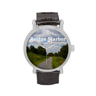 Spectacle Island in Boston Harbor Wristwatches