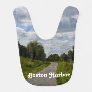 Spectacle Island in Boston Harbor Baby Bib