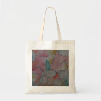 Spectacles in the Abstract Budget Tote Bag