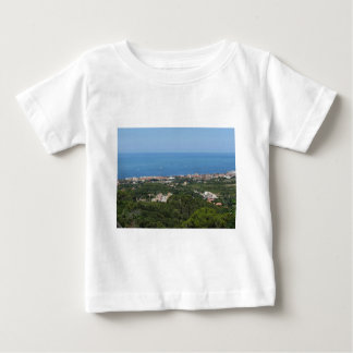 Spectacular aerial panorama of Livorno city Baby T-Shirt