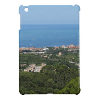 Spectacular aerial panorama of Livorno city iPad Mini Case