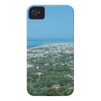 Spectacular aerial panorama of Livorno city, Italy Case-Mate iPhone 4 Cases