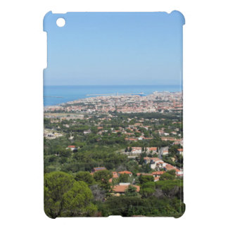 Spectacular aerial panorama of Livorno city, Italy iPad Mini Covers