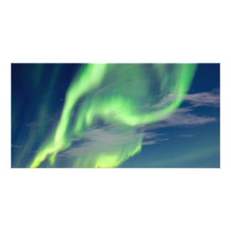 Spectacular Aurora borealis Northern Lights Customised Photo Card