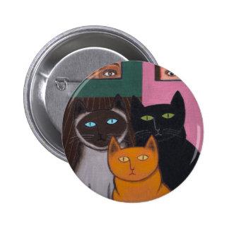Spectacular Cats 2 Pinback Button