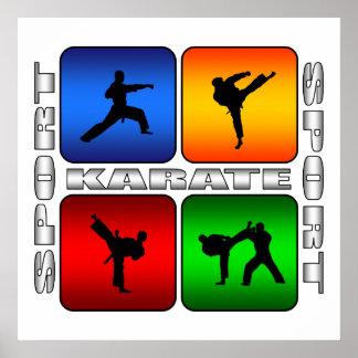 Spectacular Karate Poster