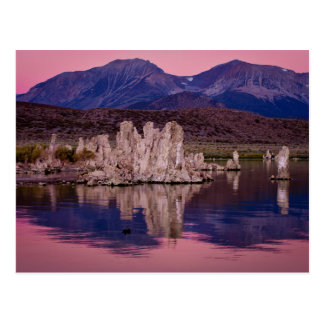 Spectacular Mono Lake In The Shadow Postcard