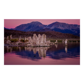 Spectacular Mono Lake In The Shadow Poster