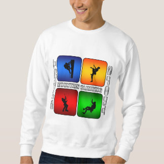 Spectacular Mountain Climbing Sweatshirt